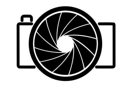 camera lens: abstract image of a camera
