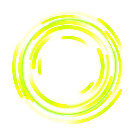 ellipses: abstract elements of rotation Illustration