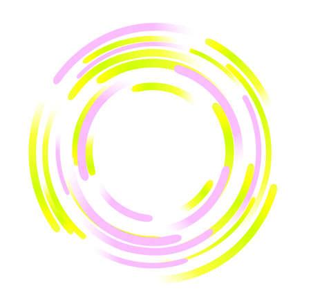 elipse: elementos abstractos de rotación Vectores