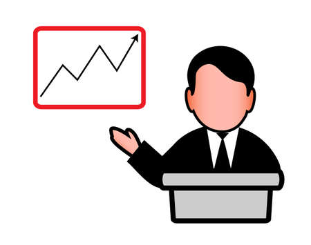 situation: presentation Illustration