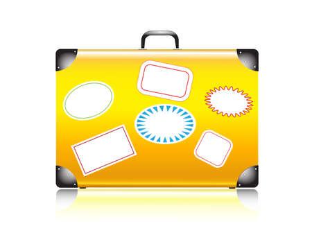 suitcase for travel Иллюстрация