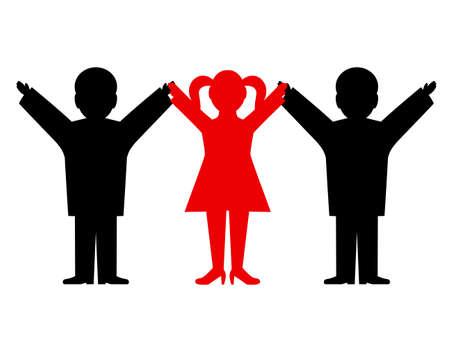 manos unidas: las personas que tienen manos unidas