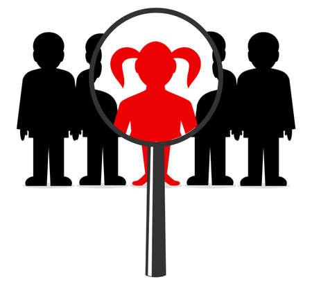 chosen one: woman among men under increase