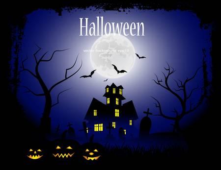 fairytale background: mystical fairytale background for Halloween
