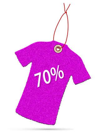 hangs: discounts color label
