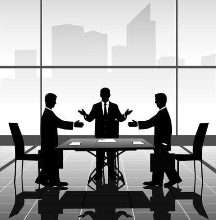 business meeting Stock Vector - 22441070