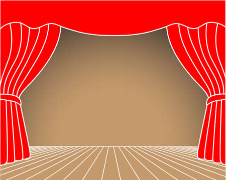 theater scene Stock Vector - 23267099