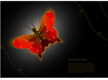 proving: card a butterfly from proving grounds against a dark background