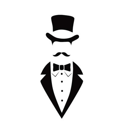 gentlemen: icon of the gentleman Illustration