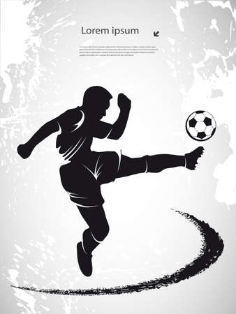 sports background of football subject