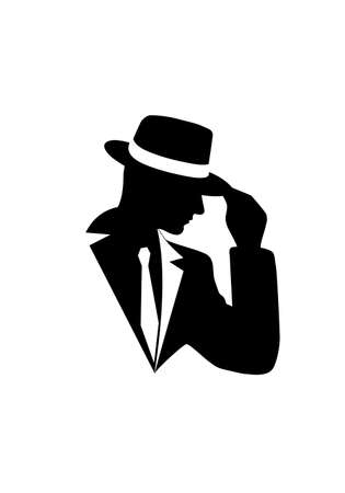 gentleman: icon of the gentleman Illustration