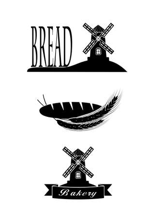 elements of the symbol of bread for your design Vector