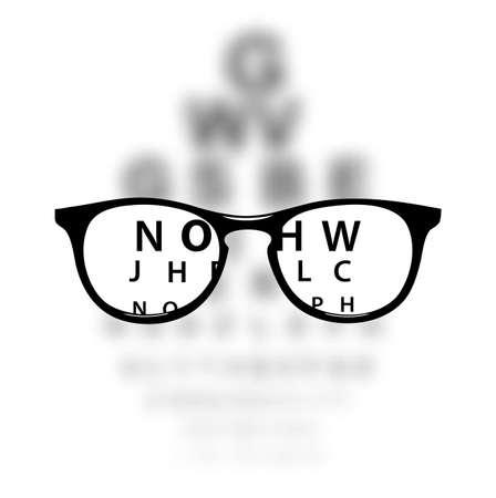 Optometrii medycznych tle Ilustracje wektorowe