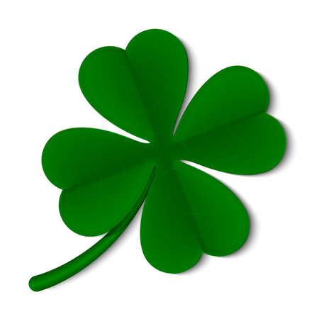 Shamrock images stock pictures royalty free shamrock photos and leaf clover isolated on white background illustration voltagebd Images