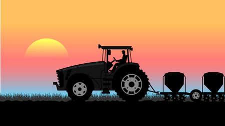 tillage: paesaggio rurale