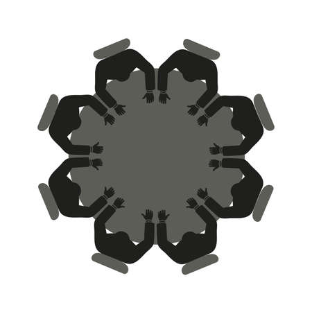 round table Illustration