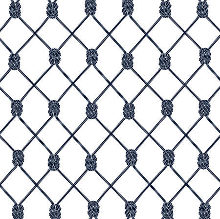 fishnet: texture from a rope network Illustration