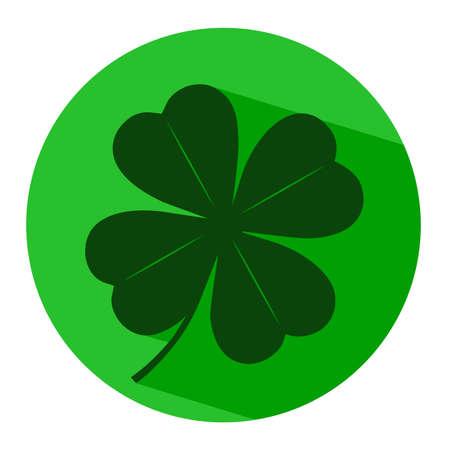 fortunate: icon leaf clover