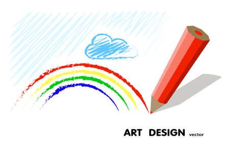 pencil paper: dibujo a l�piz. El dise�o del arte