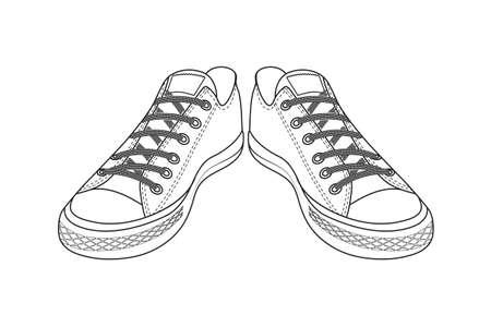 dessin chaussure dessin de chaussures de sport les jeunes chaussures faciles