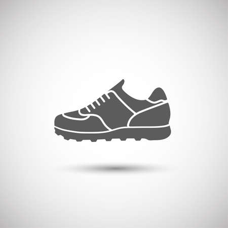 chaussure: icon chaussures de sport Illustration