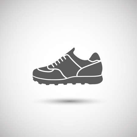zapato: zapatos icono deportivas