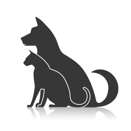 Symbol Haustiere Standard-Bild - 38215817