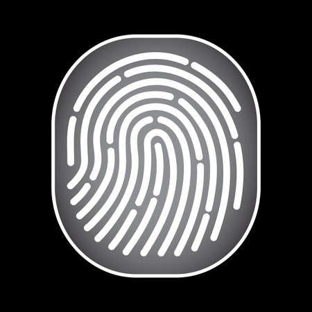 dactylogram: fingerprint scan