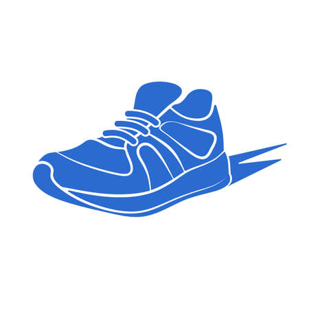 sports icon: icon sports shoes