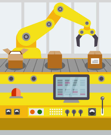 maquinaria: línea de transporte de embalaje de estilo plano de producción