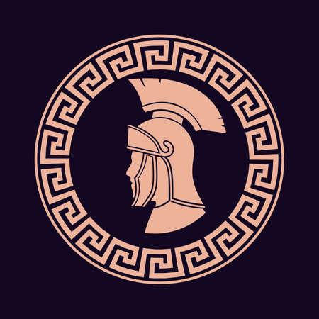 Icon Roman soldier Vector Illustration