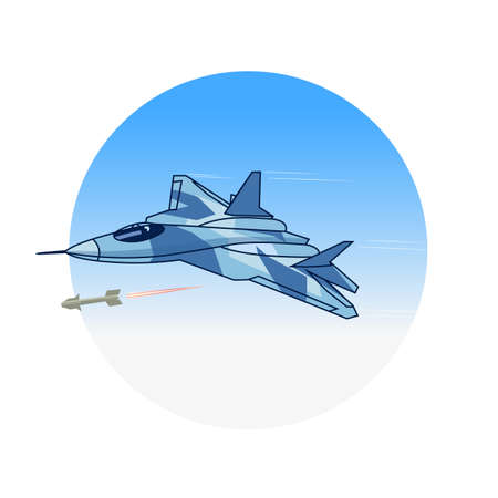 interceptor: attacking fighter in the sky