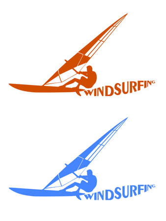 surfers: silhouettes of surfers Illustration