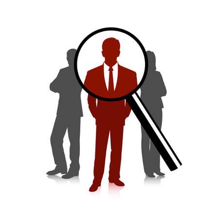 lupa: La elección del candidato, el concepto de negocio, las personas están bajo la lupa