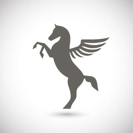 pegasus: Pegasus mythical winged horse icon