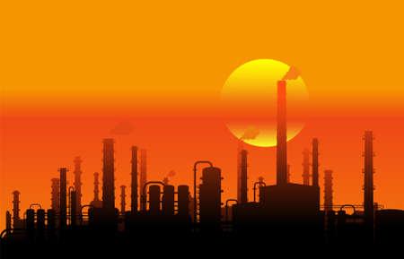 paesaggio industriale: Panorama industriale