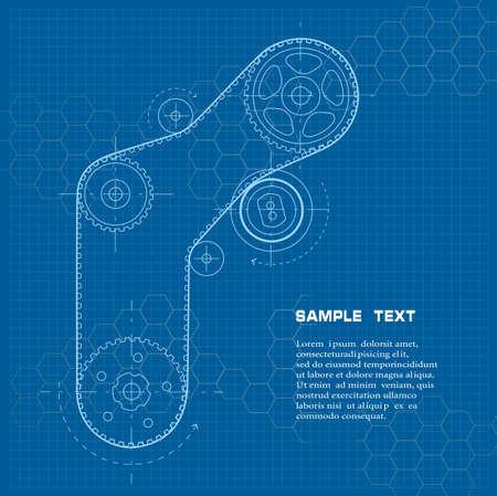 dibujo tecnico: El dibujo técnico Vectores
