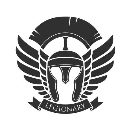 Military symbol, legionarys badge.