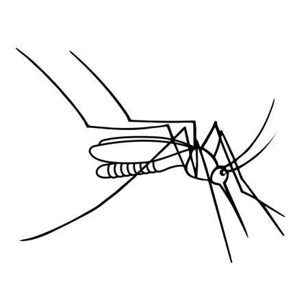 Mosquito vector Stock Vector - 87263744