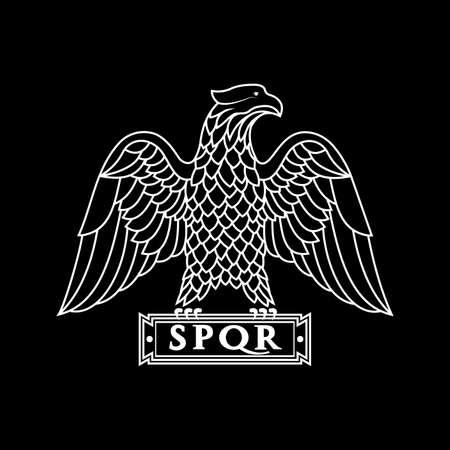 Logo of the Roman eagle.