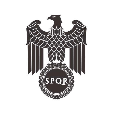 the Roman eagle.