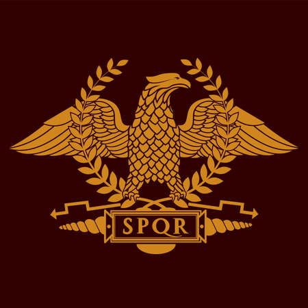 roman eagle symbol of roman empire