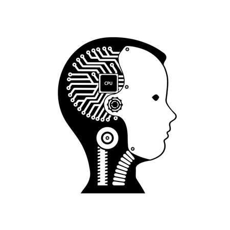 Icon robot cybernetic organism
