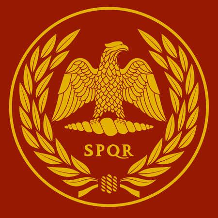 Roman eagle  vector illustration