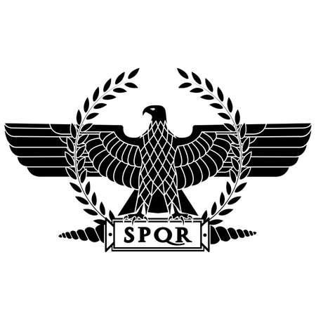 Roman eagle  vector illustration
