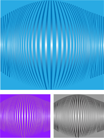 spiral striped vector background with color alternatives Vector
