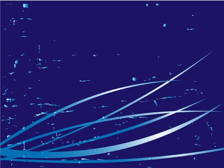 abstract blue vector background Vector