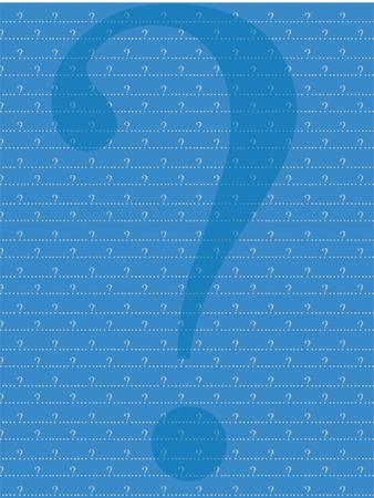 whose: blu e grigio interrogativo di fondo  Vettoriali