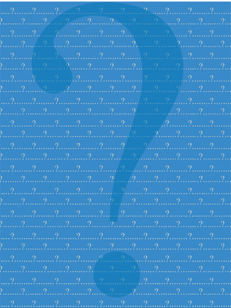 blue and grey question mark  background Stock Vector - 3392549