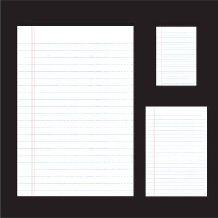 sideline: una ilustraci�n vectorial de banda de papel con Vectores